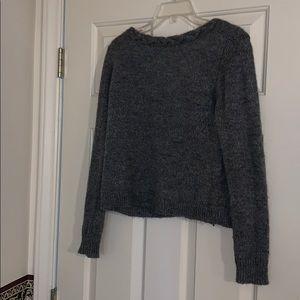 Madewell et Sezane Grey Sweater Size Small